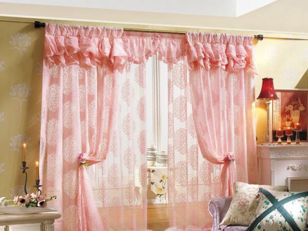 凯美隆韩式窗帘