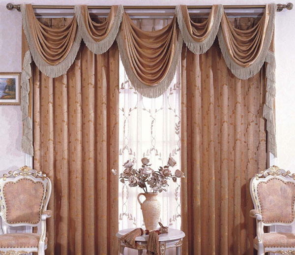 凯美隆欧式窗帘