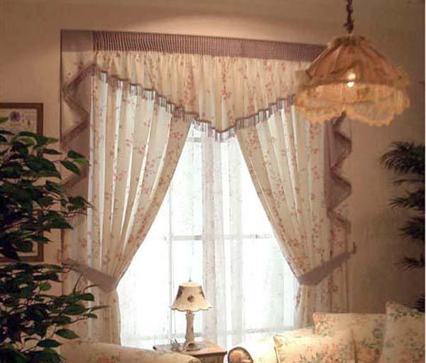 凯美隆田园风格窗帘
