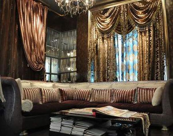 凯美隆英伦风格窗帘