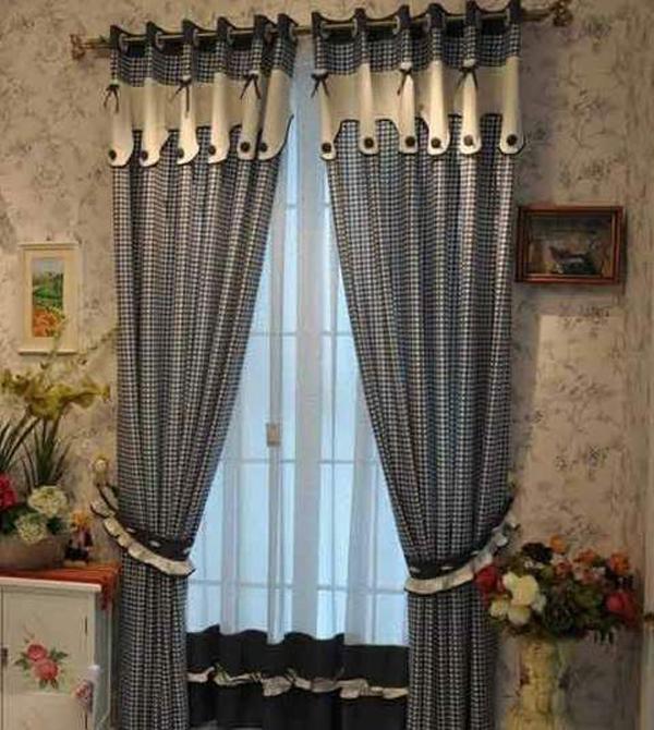 英伦风格窗帘