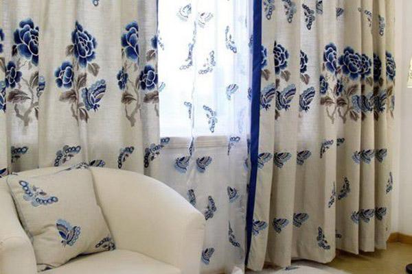 凯美隆中式窗帘