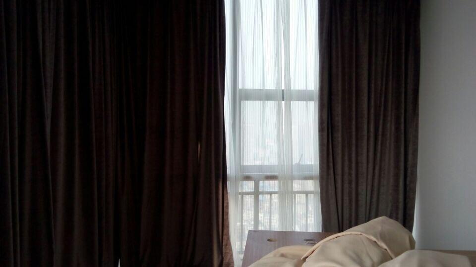 办公布艺窗帘