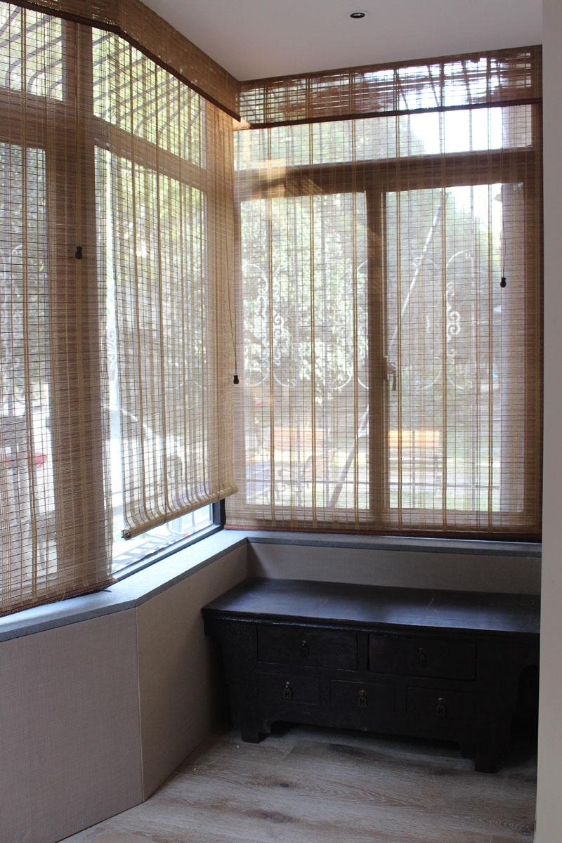 现代中式装修风格窗帘搭配