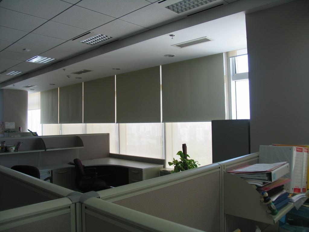办公室窗帘图片_办公室窗帘怎么选择