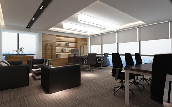 办公室窗帘方案